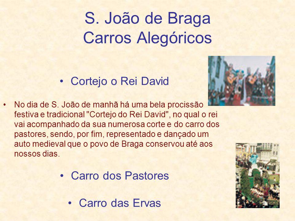 S. João de Braga Carros Alegóricos