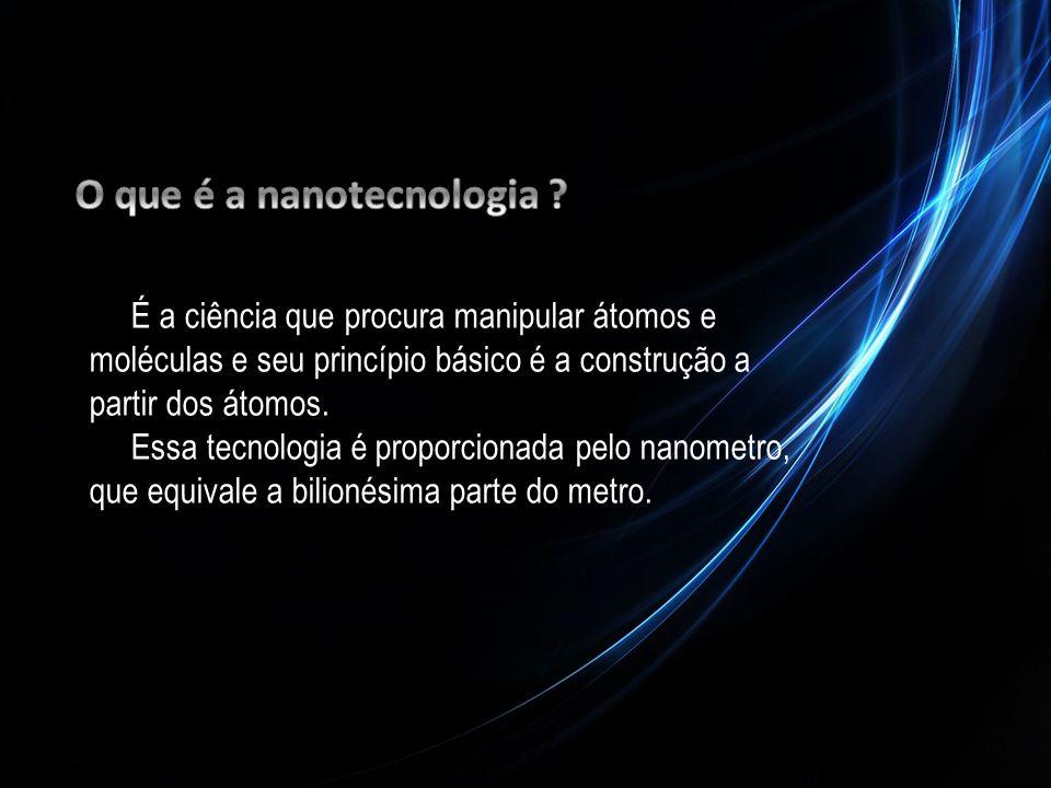 O que é a nanotecnologia