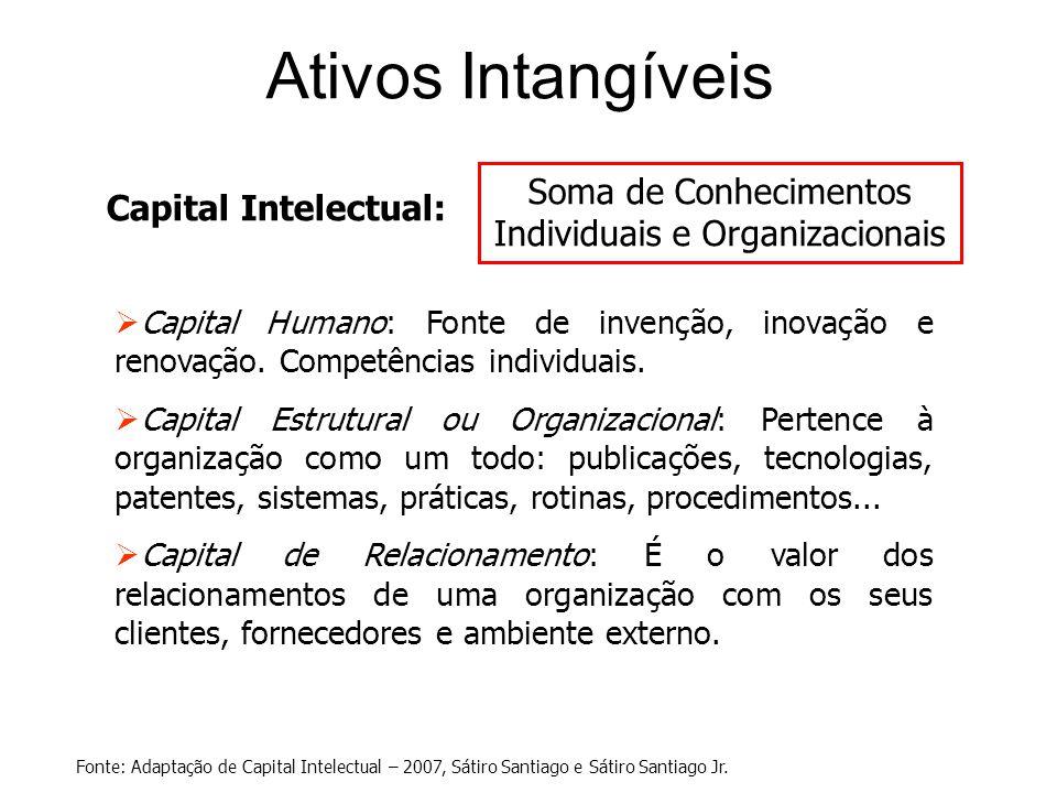 Soma de Conhecimentos Individuais e Organizacionais