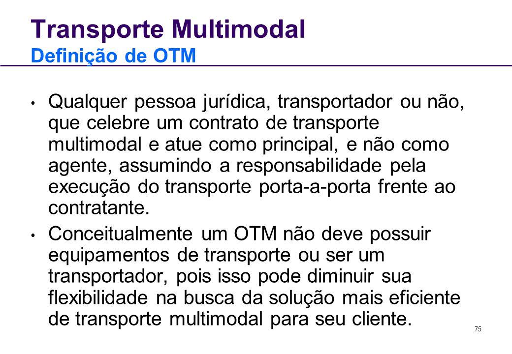 Transporte Multimodal Definição de OTM