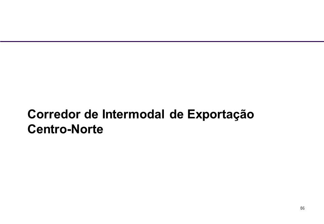 Corredor de Intermodal de Exportação Centro-Norte