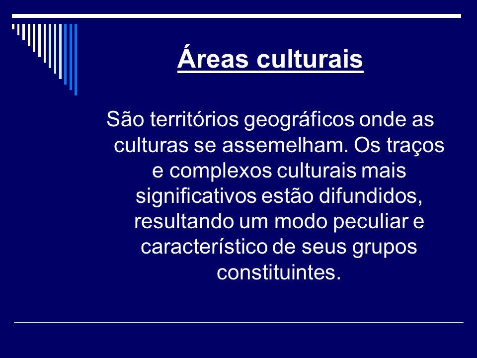 Áreas culturais