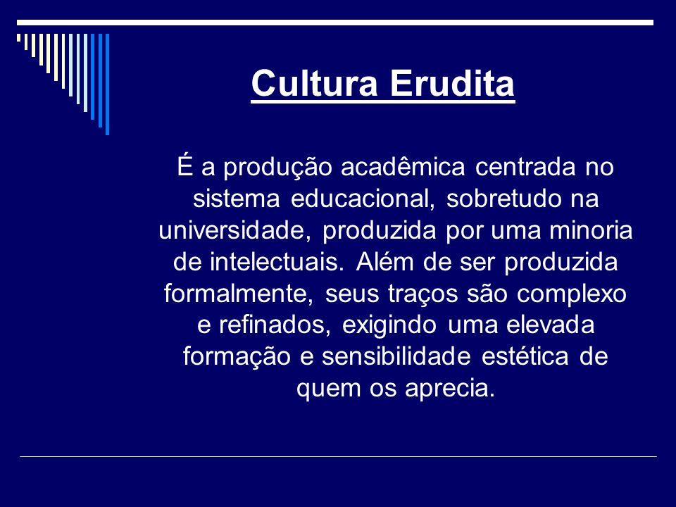 Cultura Erudita