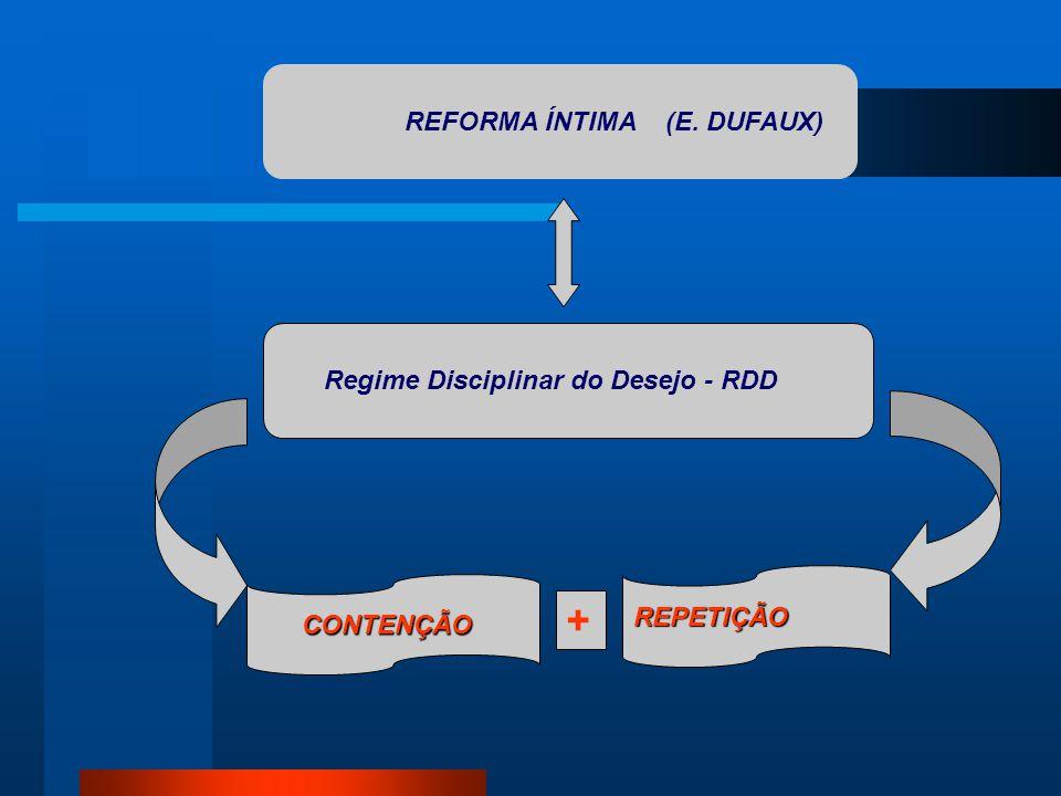 + REFORMA ÍNTIMA (E. DUFAUX) Regime Disciplinar do Desejo - RDD