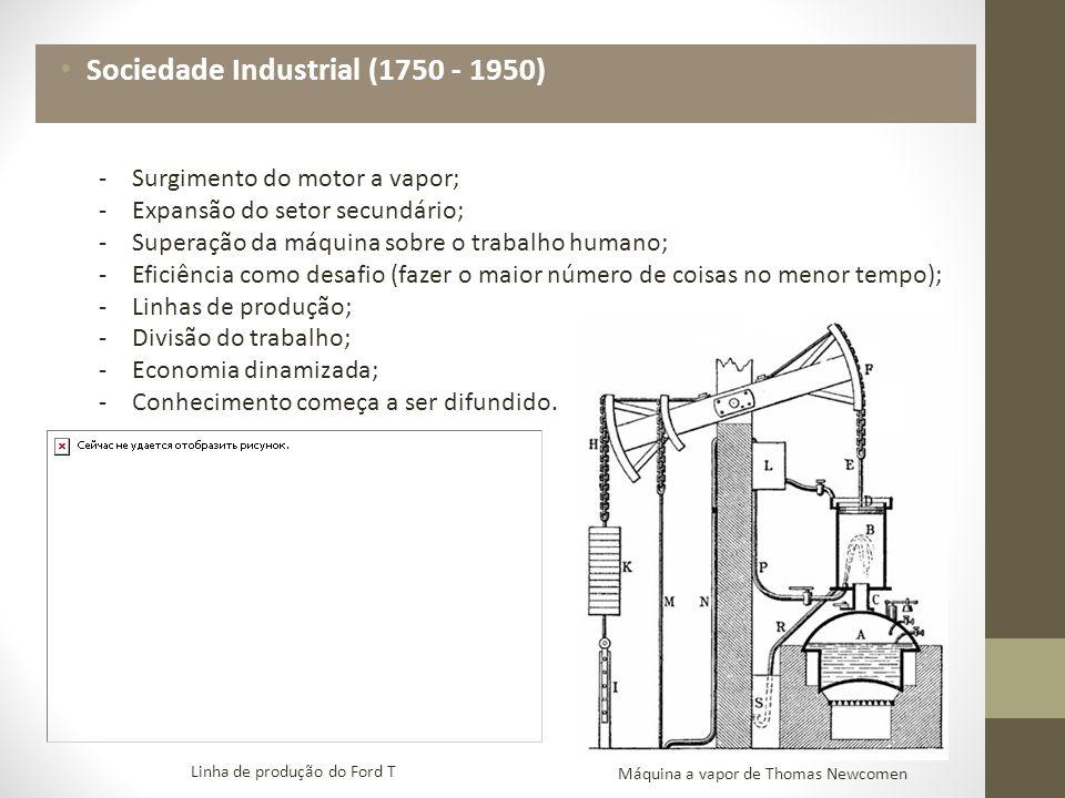 Sociedade Industrial (1750 - 1950)