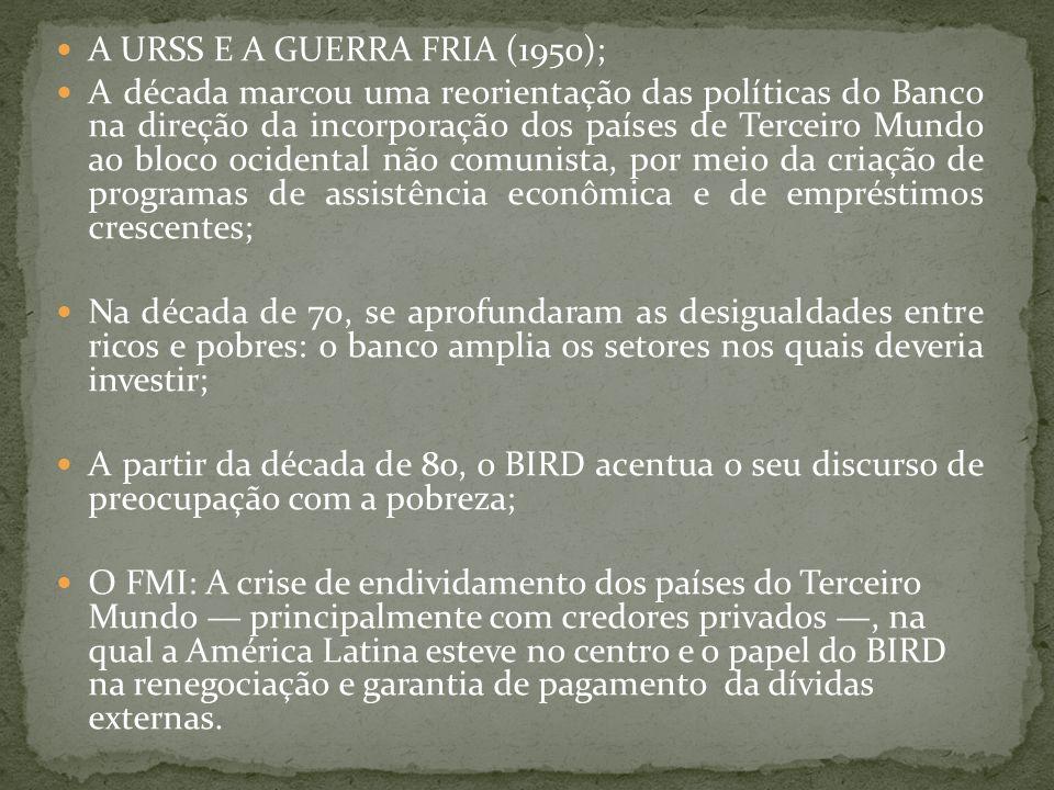 A URSS E A GUERRA FRIA (1950);