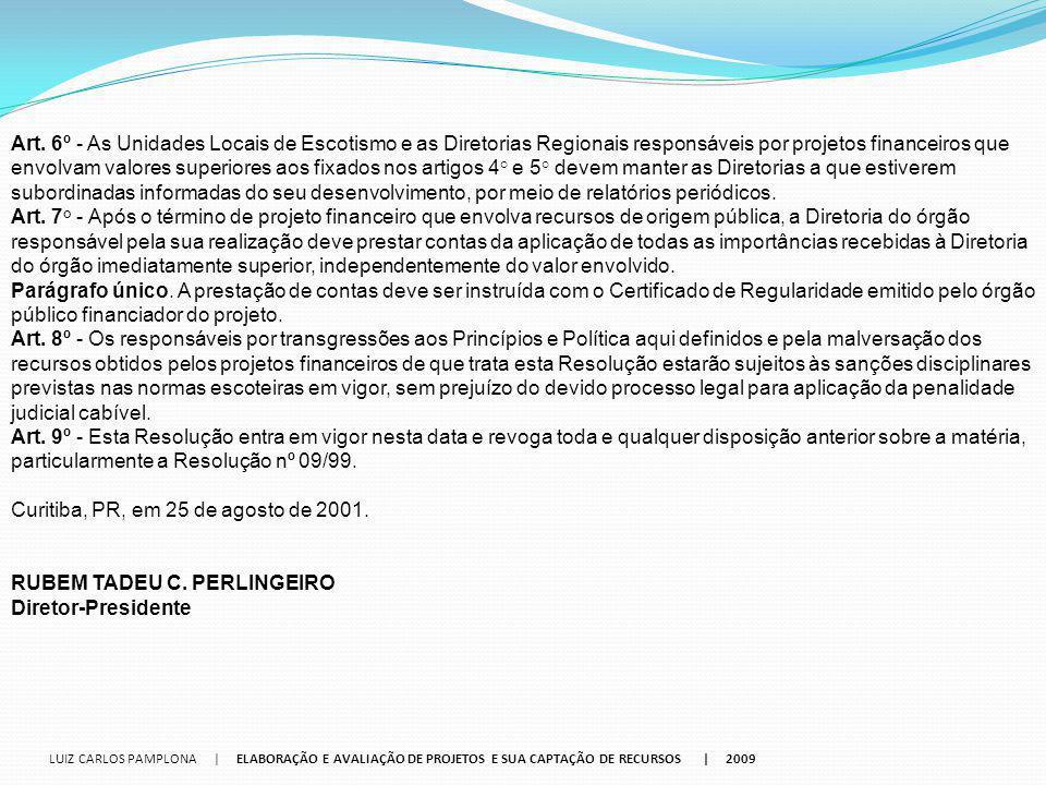 Curitiba, PR, em 25 de agosto de 2001.