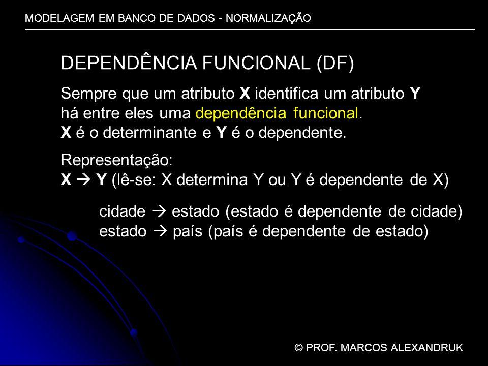 DEPENDÊNCIA FUNCIONAL (DF)