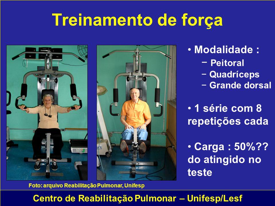 Centro de Reabilitação Pulmonar – Unifesp/Lesf