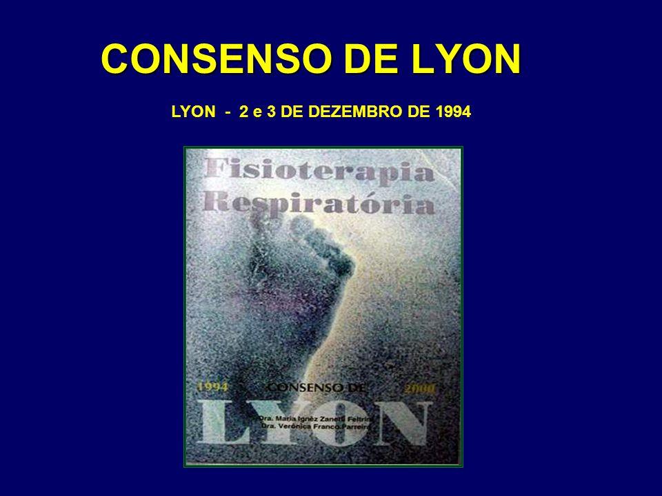 CONSENSO DE LYON LYON - 2 e 3 DE DEZEMBRO DE 1994