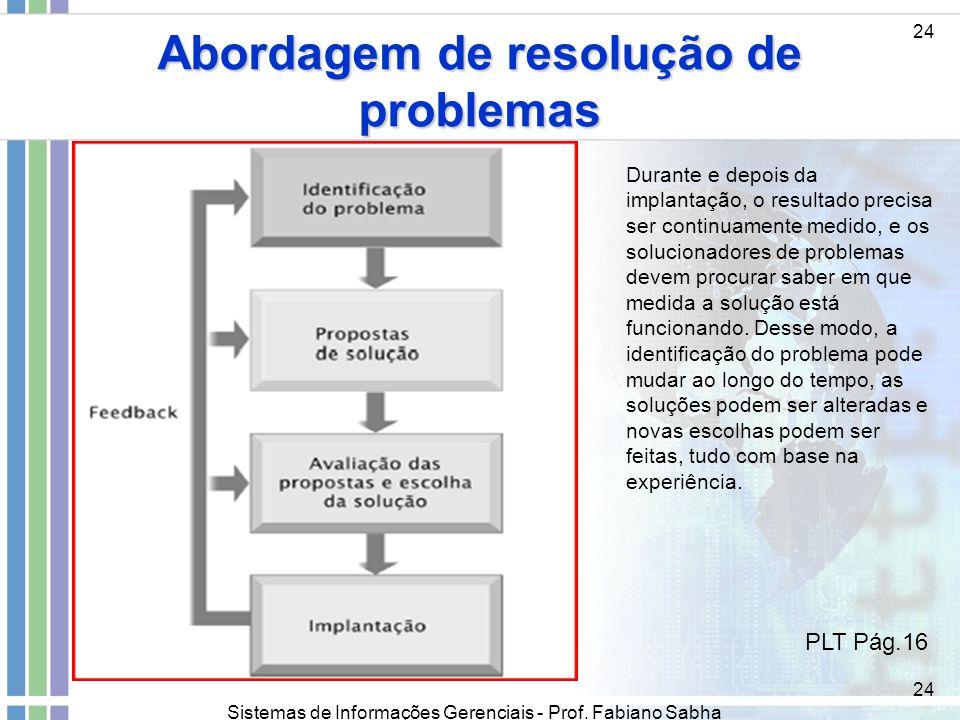 Abordagem de resolução de problemas