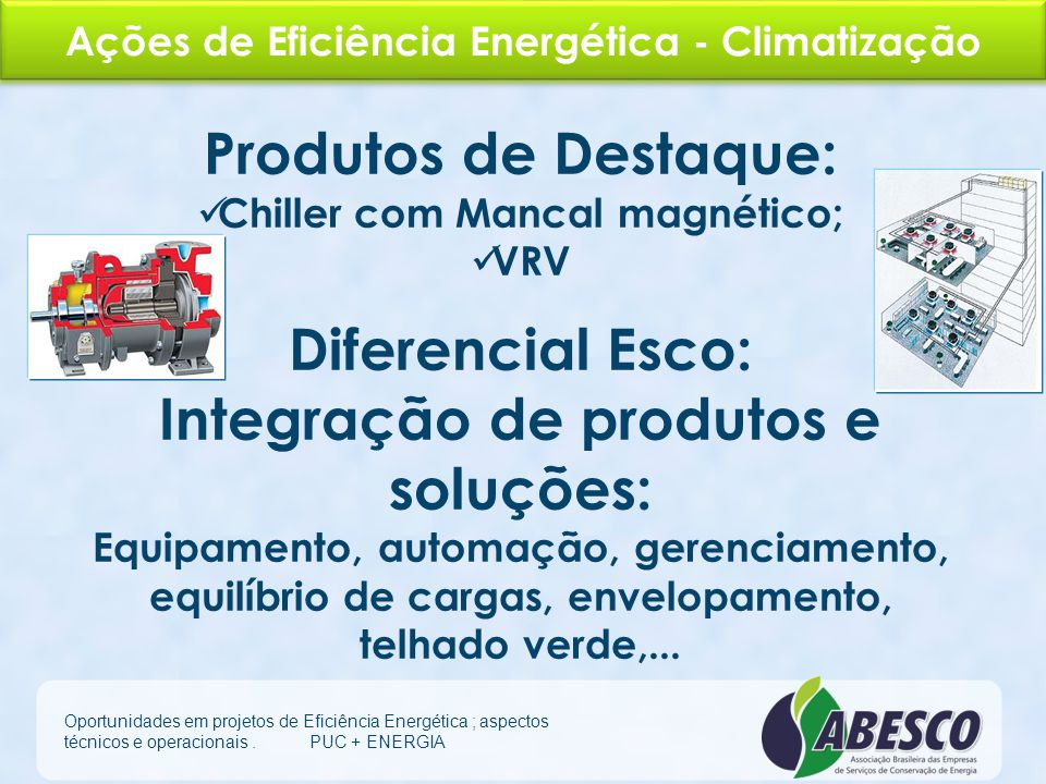 Integração de produtos e soluções: