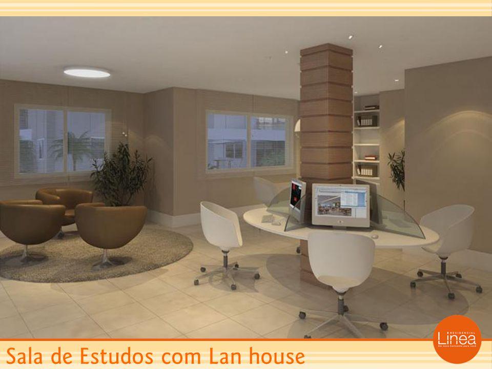Sala de Estudos com Lan house