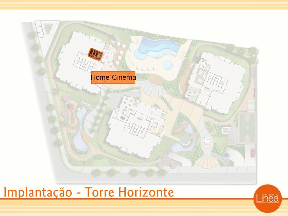 Implantação - Torre Horizonte