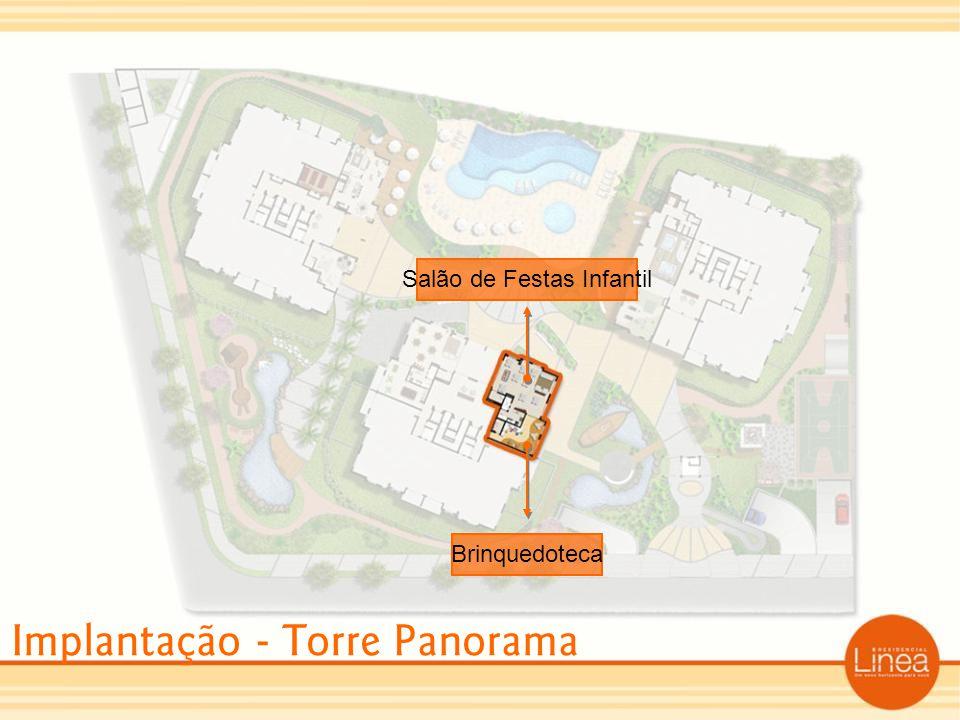Implantação - Torre Panorama