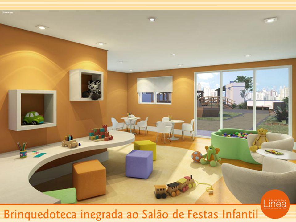 Brinquedoteca inegrada ao Salão de Festas Infantil
