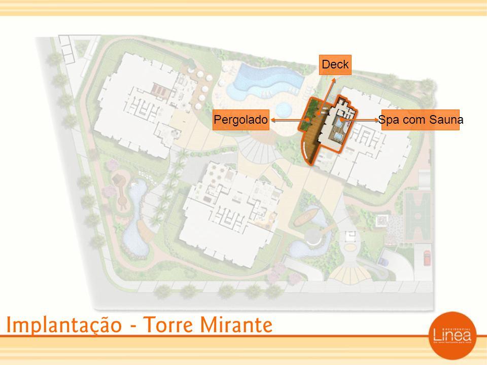 Implantação - Torre Mirante