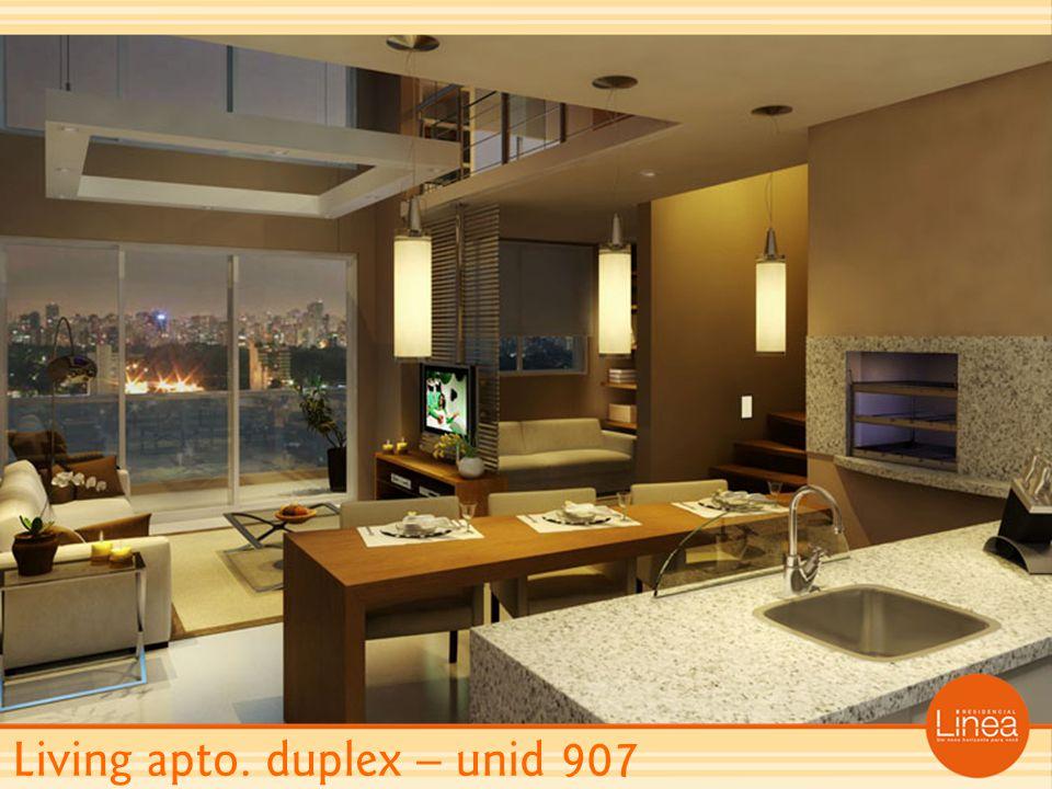 Living apto. duplex – unid 907