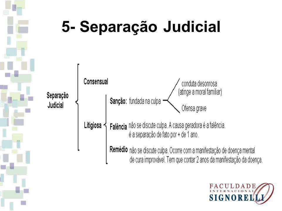 5- Separação Judicial