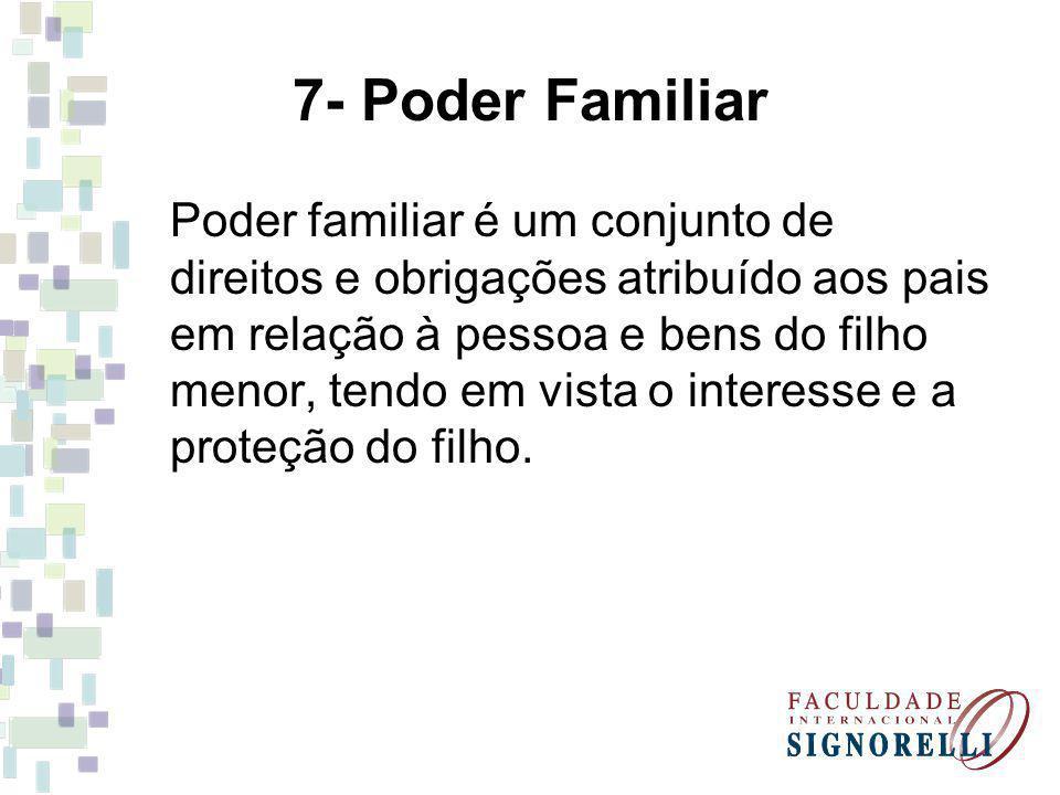 7- Poder Familiar