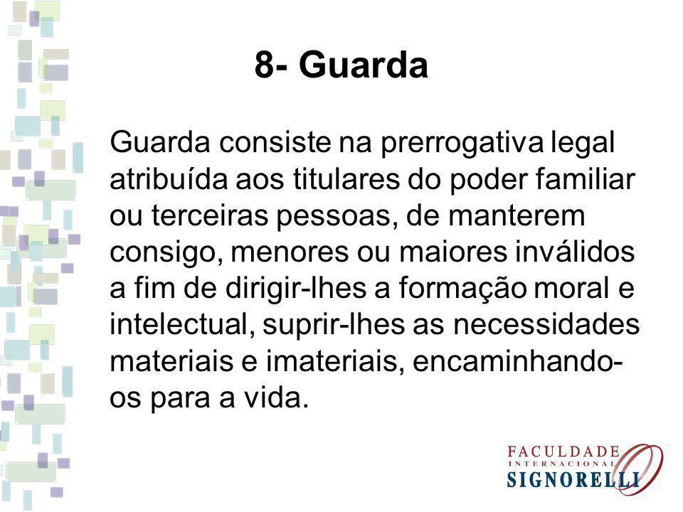 8- Guarda
