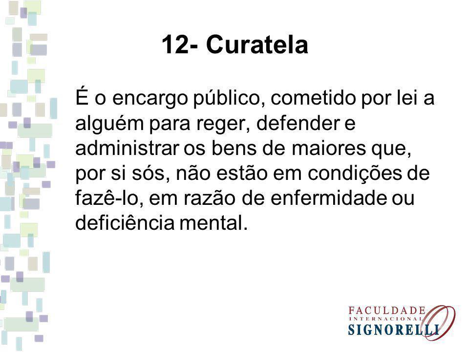 12- Curatela