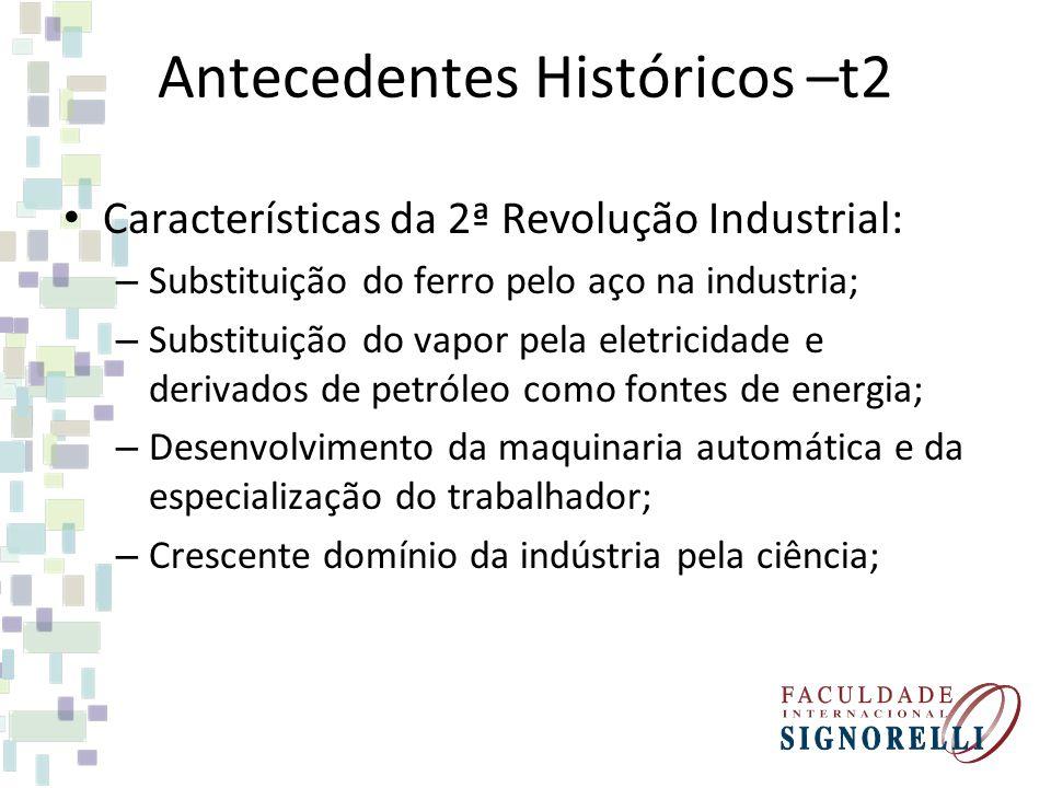 Antecedentes Históricos –t2