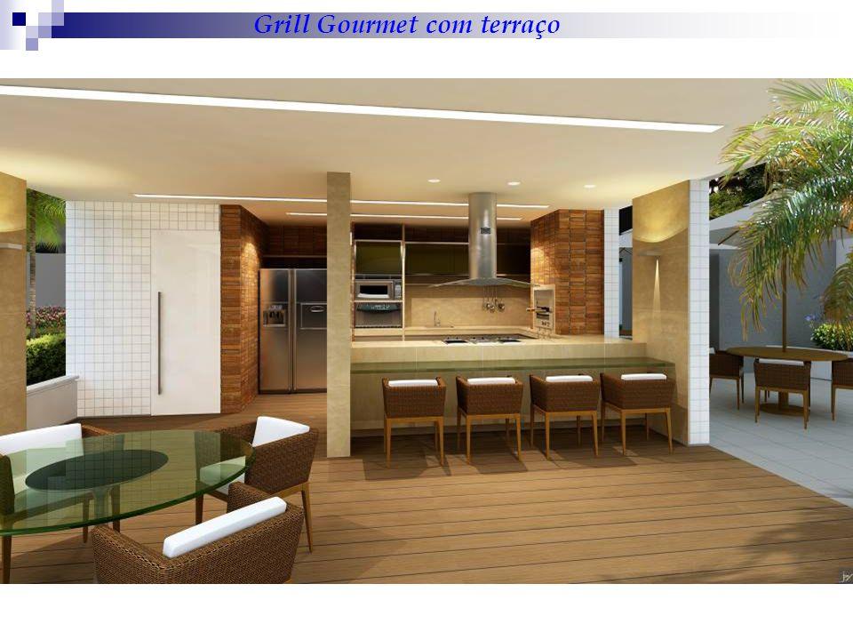 Grill Gourmet com terraço