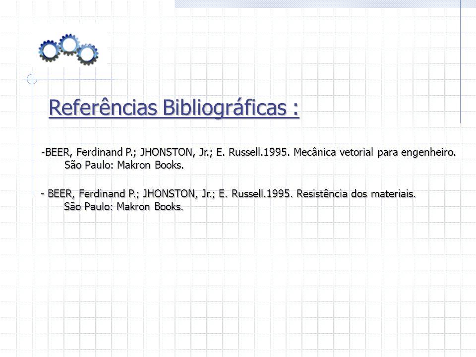Referências Bibliográficas :