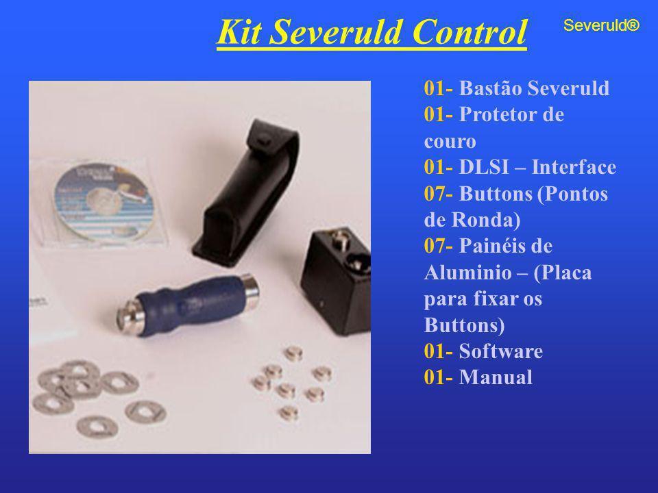 Kit Severuld Control 01- Bastão Severuld 01- Protetor de couro