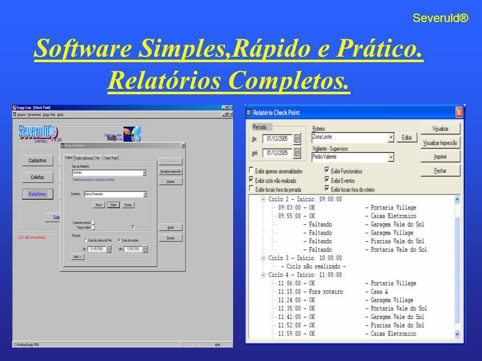 Software Simples,Rápido e Prático.