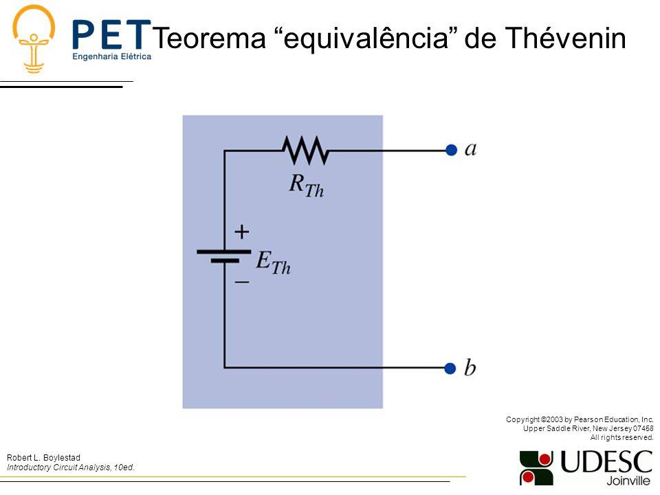 Teorema equivalência de Thévenin