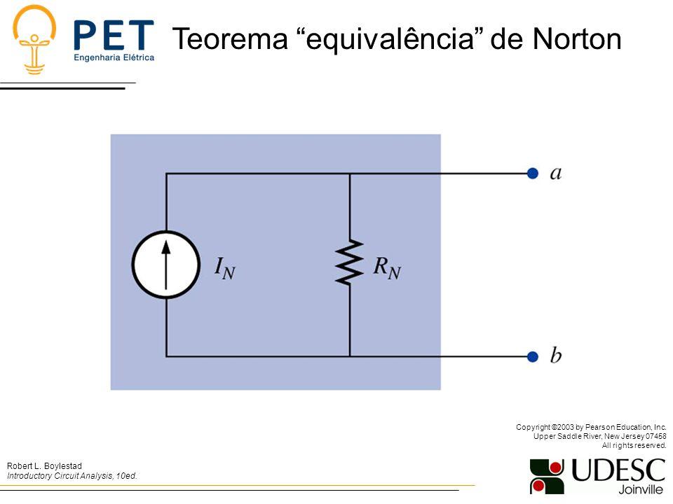 Teorema equivalência de Norton