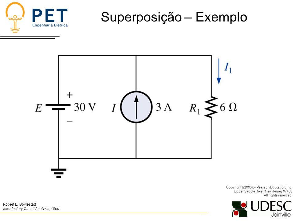 Superposição – Exemplo