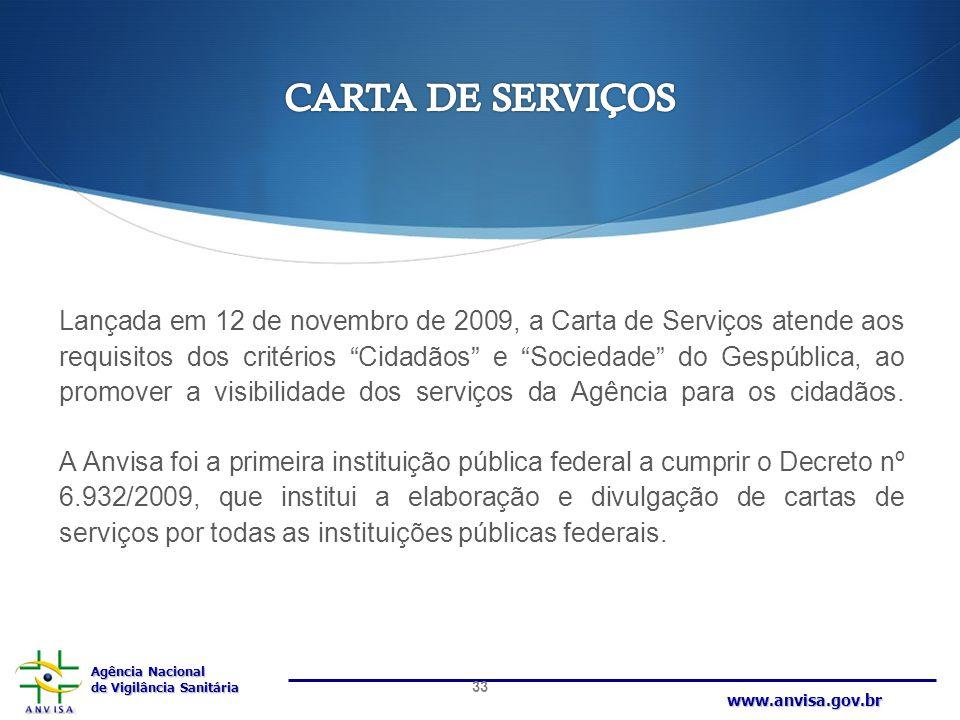 CARTA DE SERVIÇOS