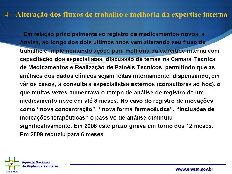 4 – Alteração dos fluxos de trabalho e melhoria da expertise interna