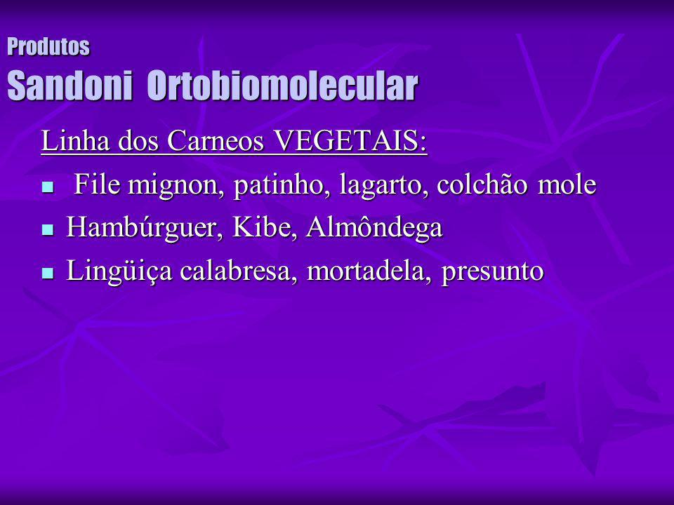 Produtos Sandoni Ortobiomolecular