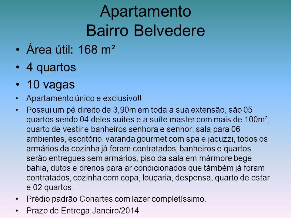 Apartamento Bairro Belvedere
