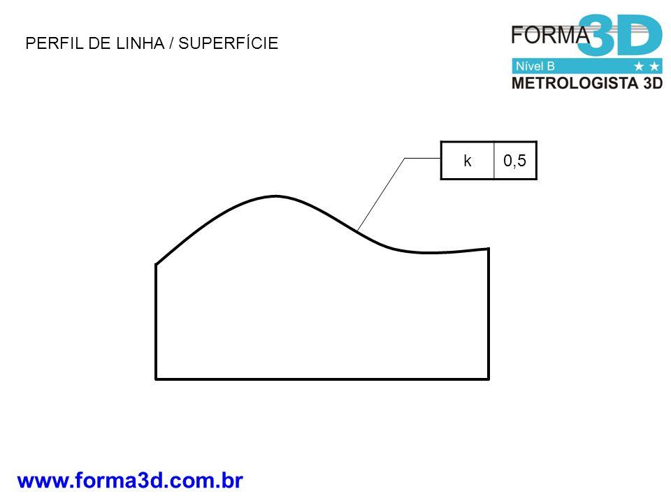 PERFIL DE LINHA / SUPERFÍCIE