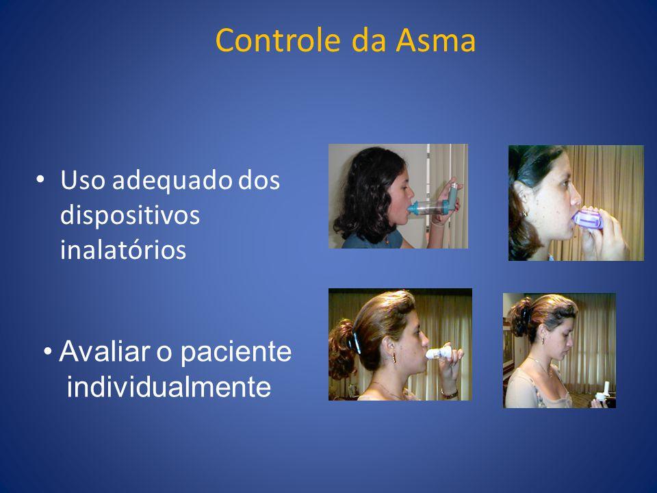 Controle da Asma Uso adequado dos dispositivos inalatórios