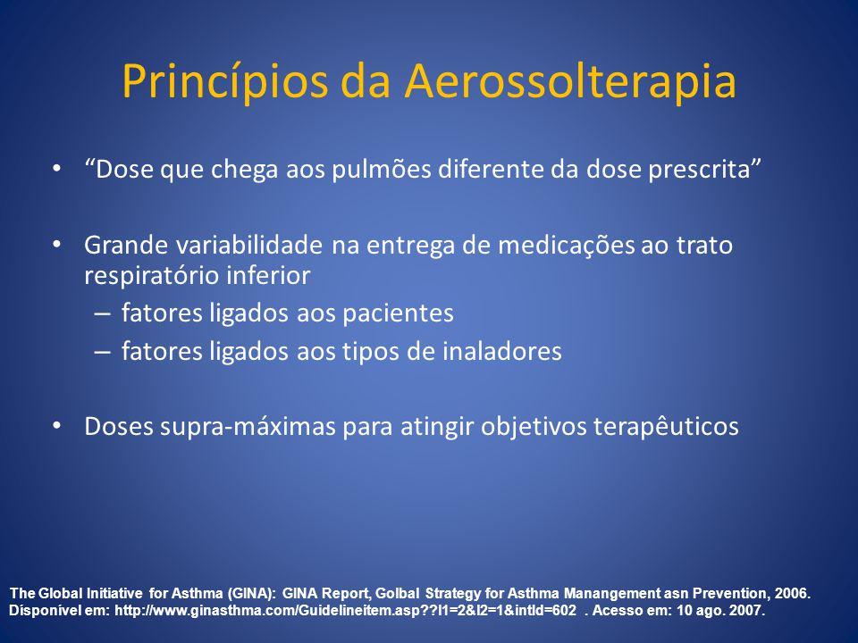 Princípios da Aerossolterapia