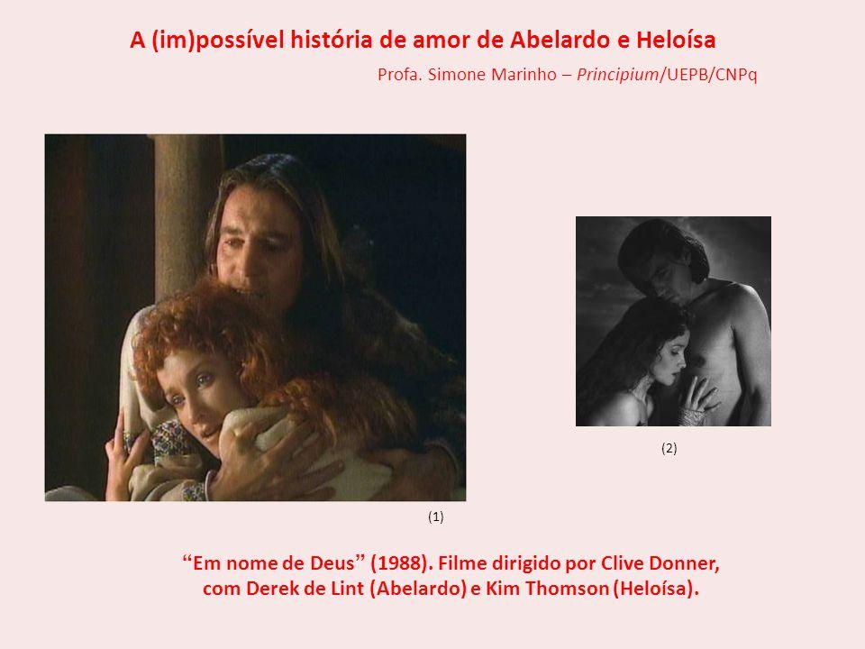 A (im)possível história de amor de Abelardo e Heloísa
