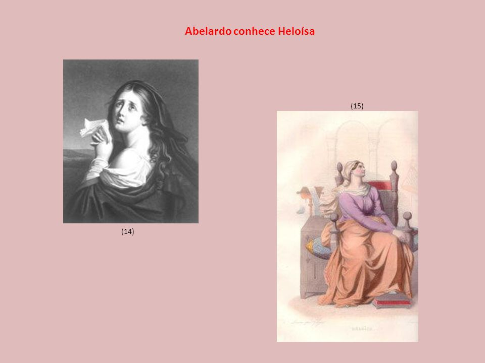 Abelardo conhece Heloísa