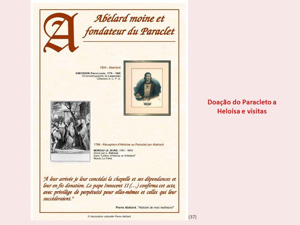 Doação do Paracleto a Heloísa e visitas
