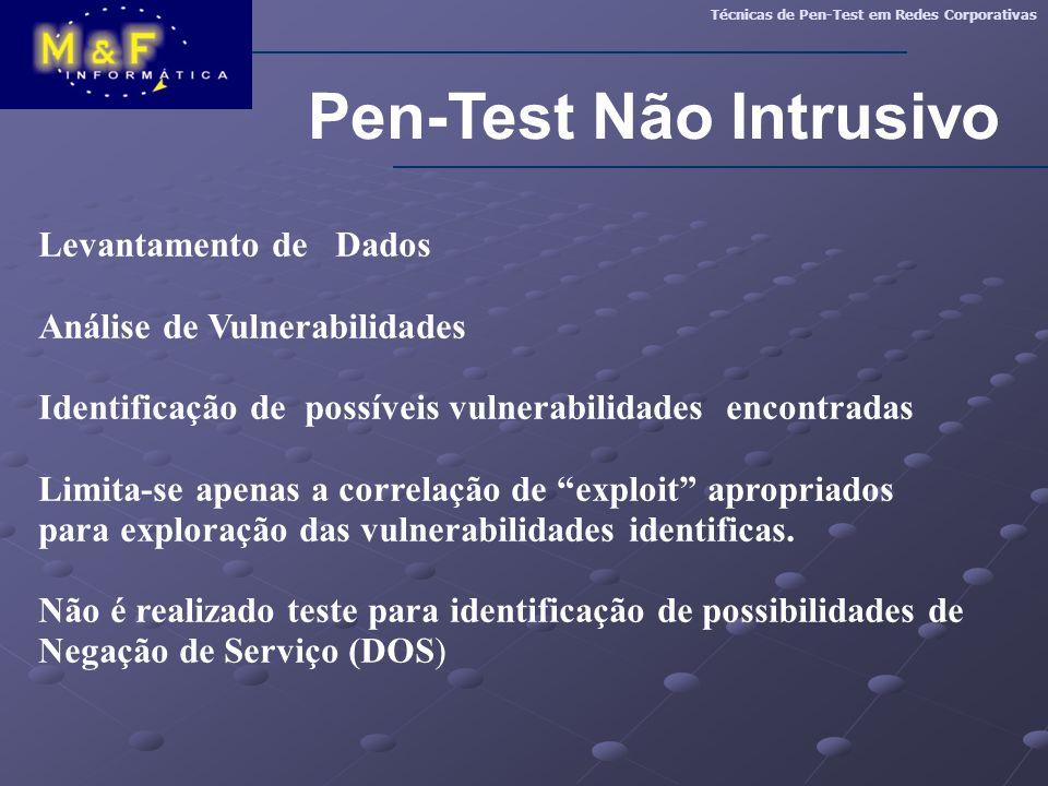 Pen-Test Não Intrusivo