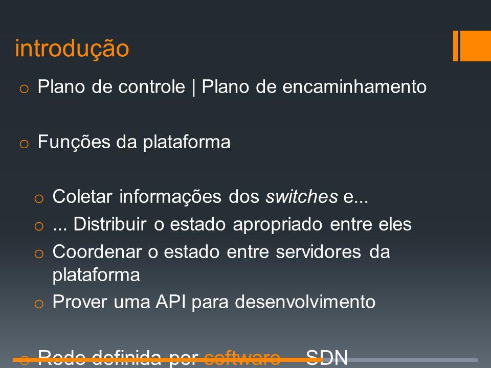 introdução Rede definida por software - SDN