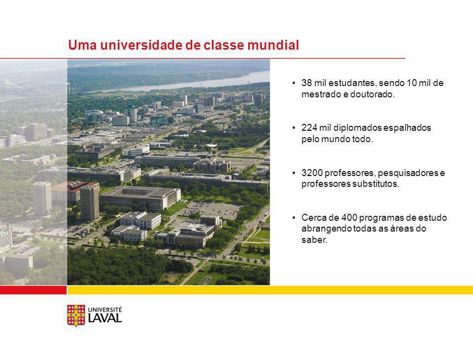 Uma universidade de classe mundial