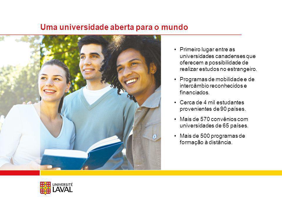 Uma universidade aberta para o mundo