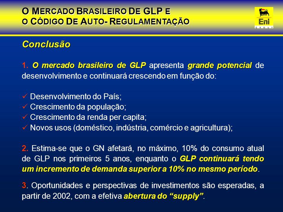 O MERCADO BRASILEIRO DE GLP E