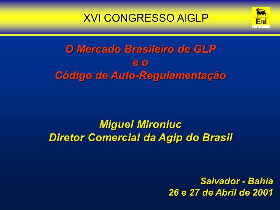 O Mercado Brasileiro de GLP e o Código de Auto-Regulamentação